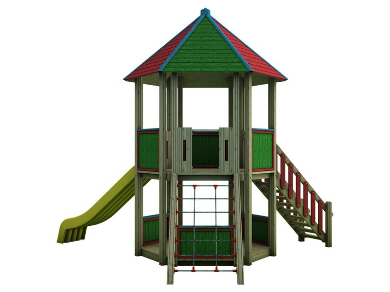 Play structure COUNTRY | 2031 by Legnami Tirano
