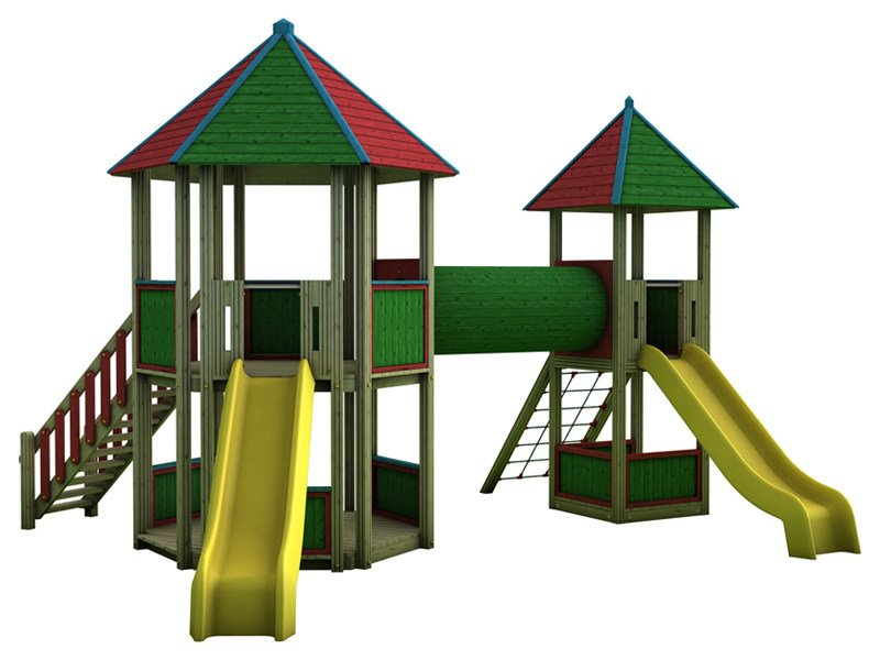 Play structure COUNTRY   2032 by Legnami Tirano