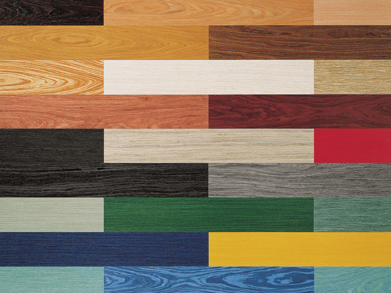 Multi-layer wood parquet CALEIDOSYSTEM by TABU