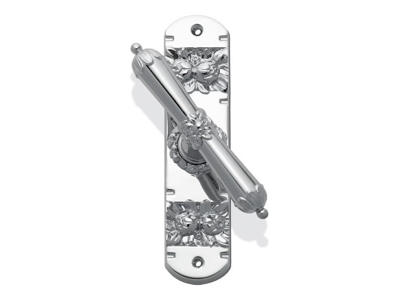 Art Nouveau brass Cremone handle C09620 | Art Nouveau Cremone handle by Enrico Cassina