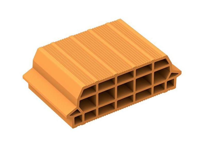 Slab clay block INTERPOSTO by DANESI LATERIZI