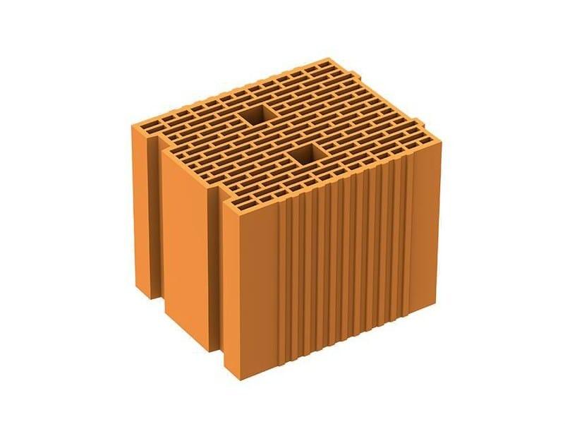 Loadbearing clay block POROTON PLAN TS by DANESI LATERIZI
