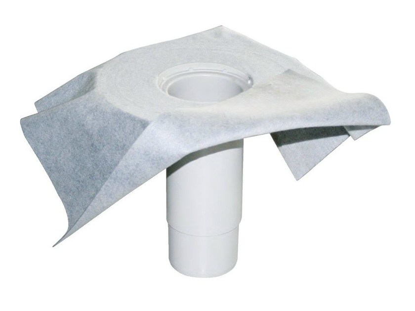Roof drain straight telescopic with non-woven sheet LIQUID STRAIGHT TELESCOPIC by ETERNO IVICA