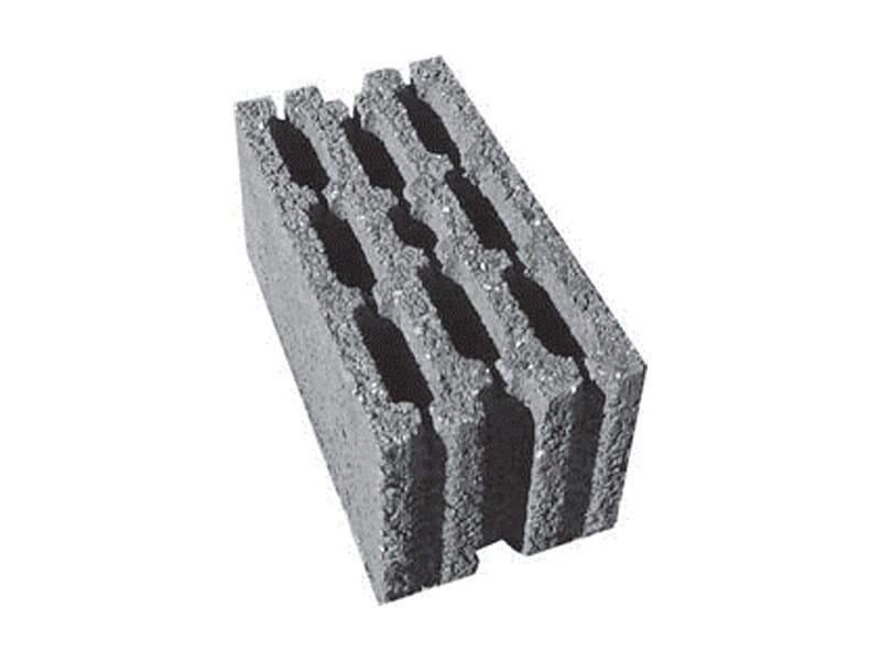 Precast reinforced concrete structural component Blocchi in lapillo cemento by F.LLI ABAGNALE