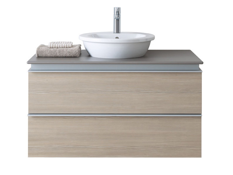 Countertop Round Ceramic Washbasin DARLING NEW | Countertop Washbasin By  Duravit