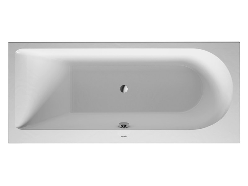 Built-in rectangular acrylic bathtub DARLING NEW | Built-in bathtub by Duravit