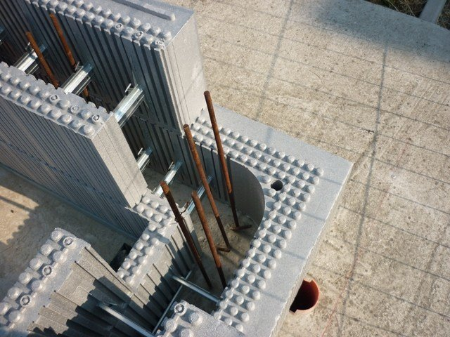 ICF to stay in Neopor for concrete walls ARGISOL by Bioisotherm