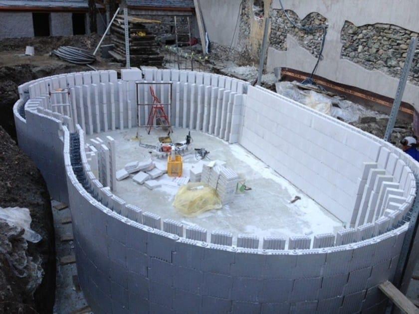 ARGISOL Piscine (pareti curvilinee)