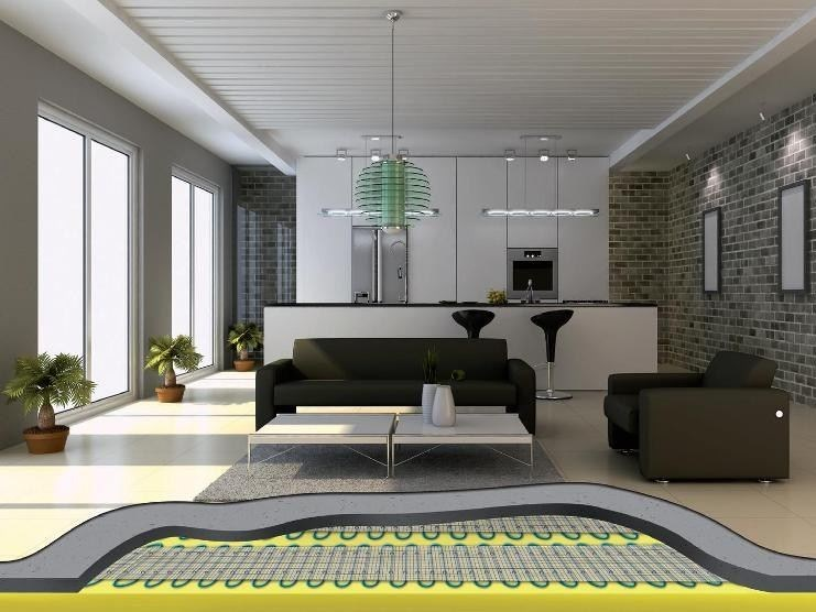 Radiating cable and mat TENEFLOOR by ATH Italia