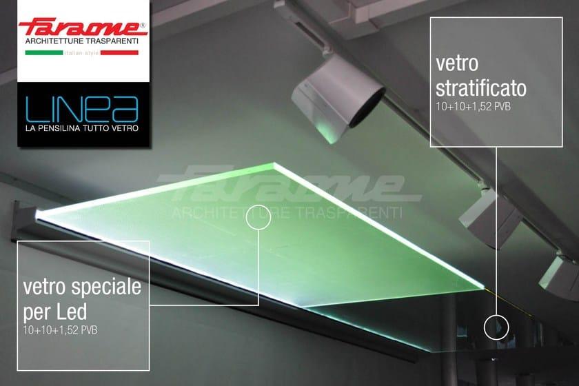 LINEA | Pensilina in vetro LINEA LED