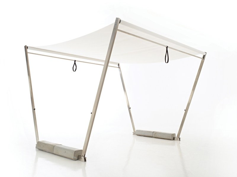 Gazebo with sliding cover HOPPER SHADE by Extremis
