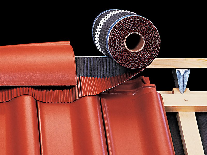 Breathable under roof fabric ROLL-FIX® by KLÖBER ITALIA