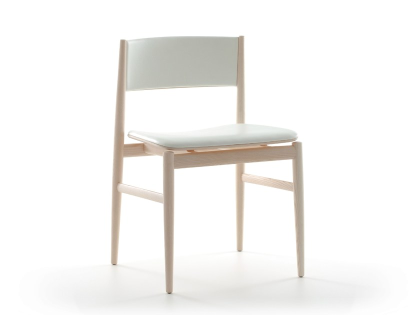 Design upholstered ash chair NEVE | Chair by Porro