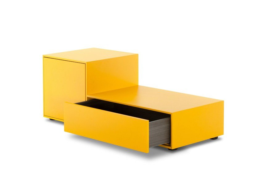 Lacquered bedside table TRUCK by Porro