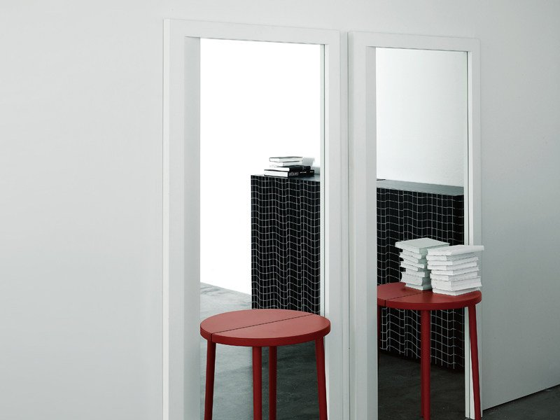Hall mirror MIRROR TABLE by Porro