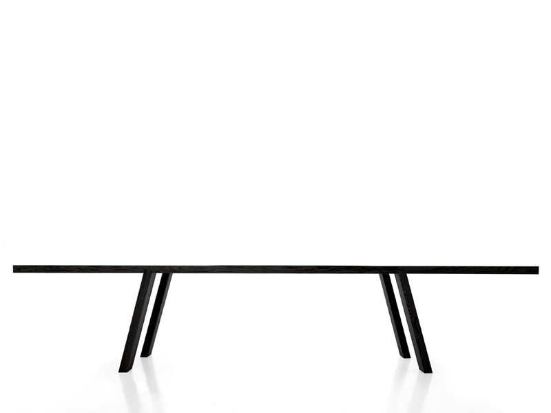 Rectangular wooden table MINIMO by Porro
