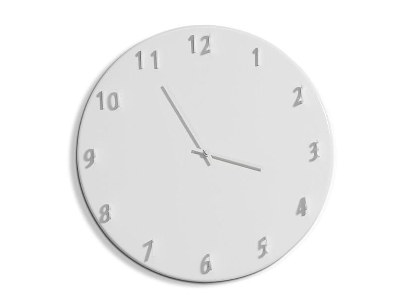 Wall-mounted clock SUNDIAL by Porro
