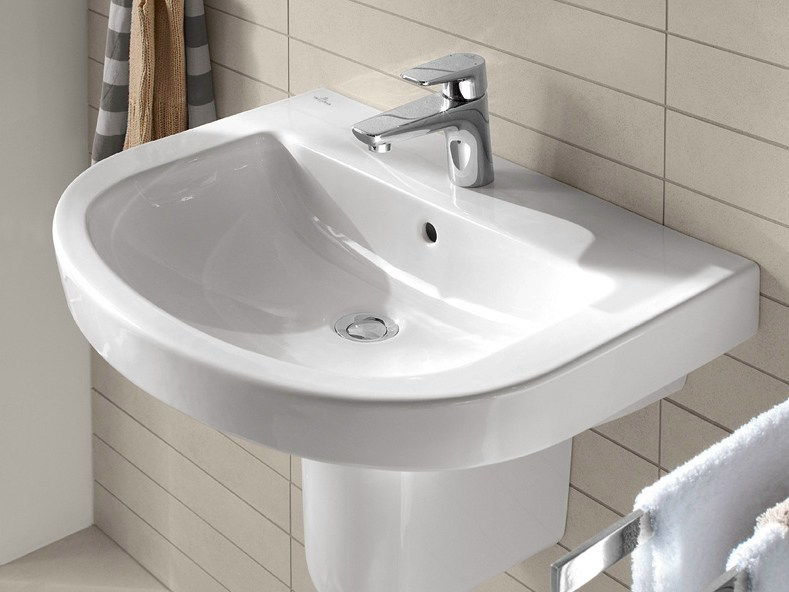 Round ceramic washbasin SUBWAY 2.0 | Round washbasin by Villeroy & Boch