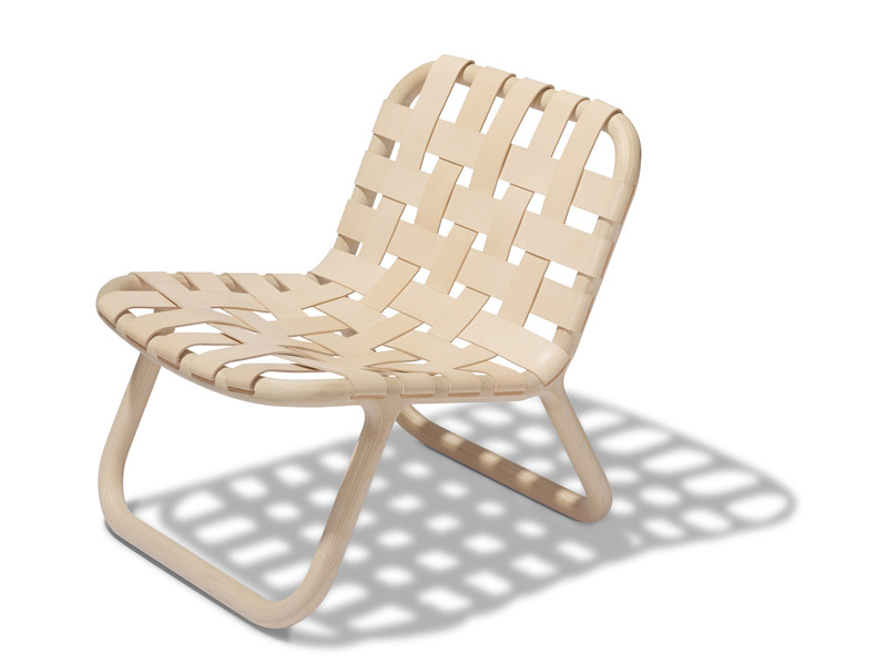 Tanned leather chair CAMPING | Chair by Normann Copenhagen