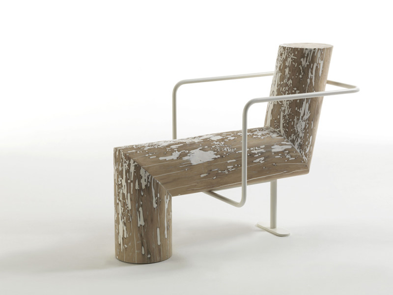 Wooden armchair ANTI-COMFORT by Riva 1920