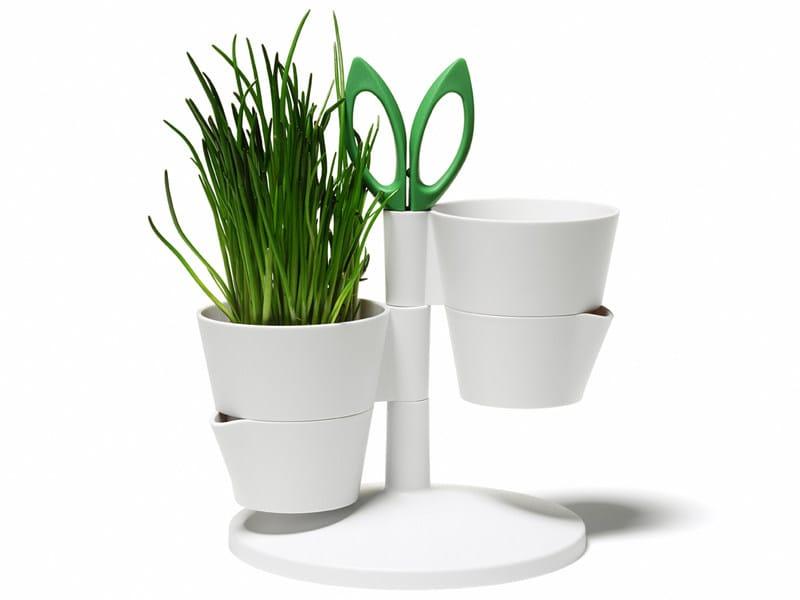 Plastic Plant Pot Herb Stand By Normann Copenhagen