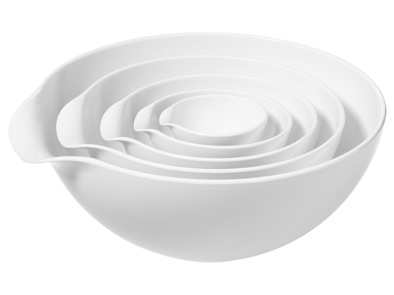 Melamine serving bowl JENSEN BOWL by Normann Copenhagen