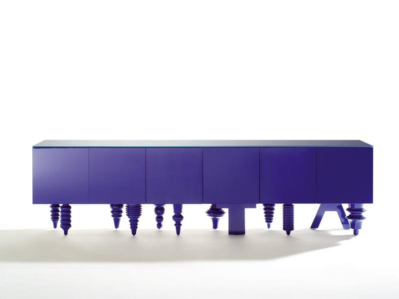 Lacquered MDF sideboard MULTILEG | MDF sideboard by BD Barcelona Design