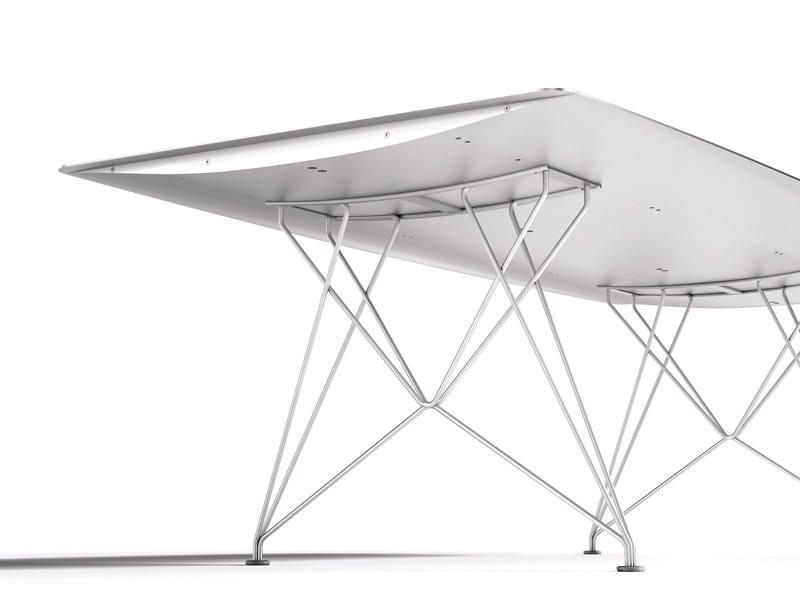 TABLE B | Tavolo in alluminio
