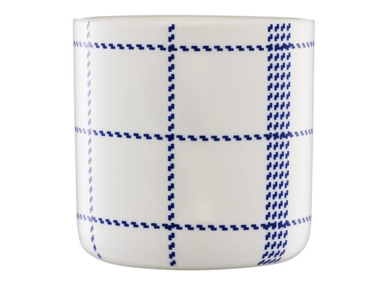Ceramic cup MORMOR BLUE CUP by Normann Copenhagen