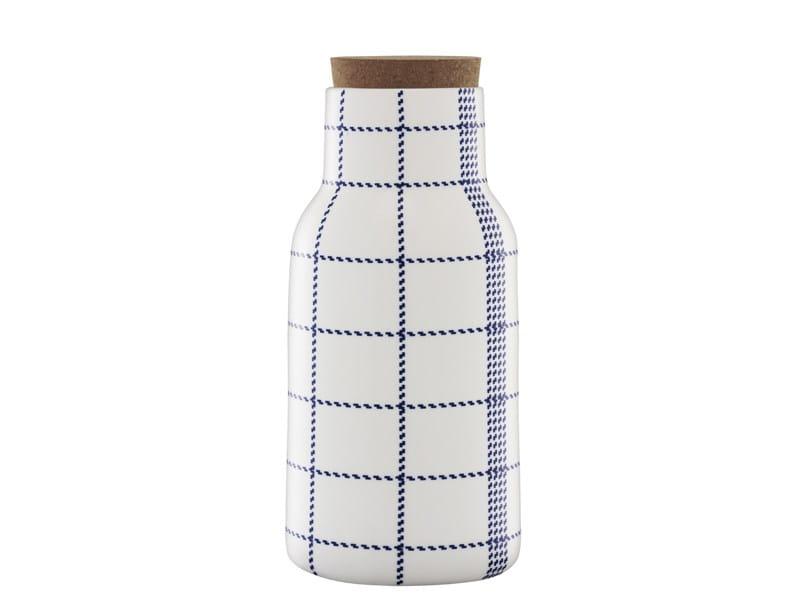 Ceramic jug MORMOR BLUE DECANTER by Normann Copenhagen