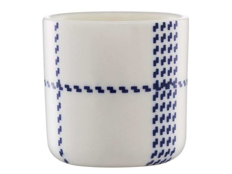 Ceramic egg cup MORMOR BLUE EGGCUP by Normann Copenhagen