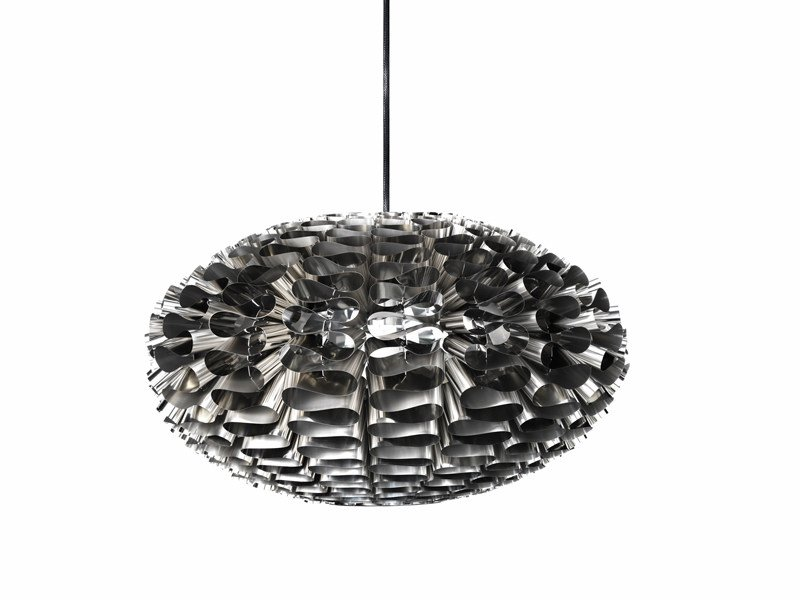 Stainless steel pendant lamp NORM 03 STAINLESS STEEL by Normann Copenhagen