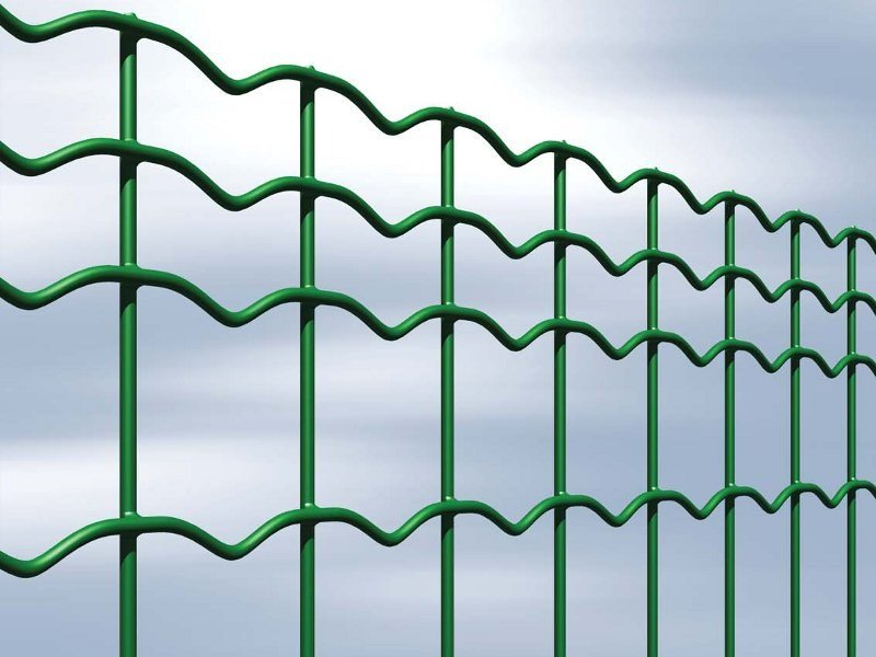 Plasticized electrically welded mesh Fence EVERPLAX by Gruppo CAVATORTA