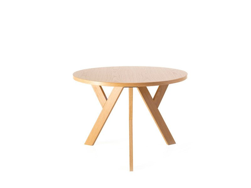 Round wooden coffee table YPSILON | Coffee table by Karl Andersson