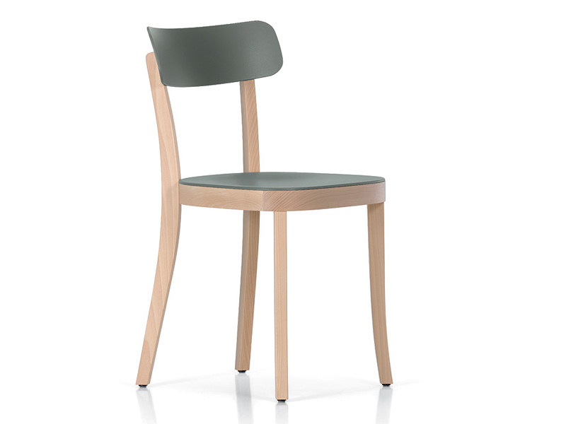 Wooden chair BASEL CHAIR by Vitra