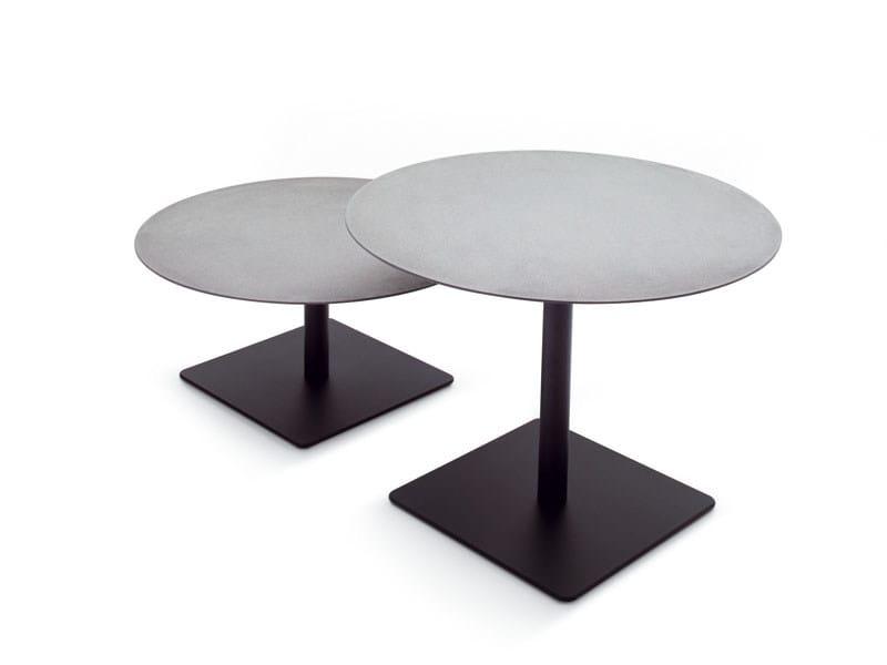 Tavolino ad altezza regolabile rotondo giro tavolino paola lenti