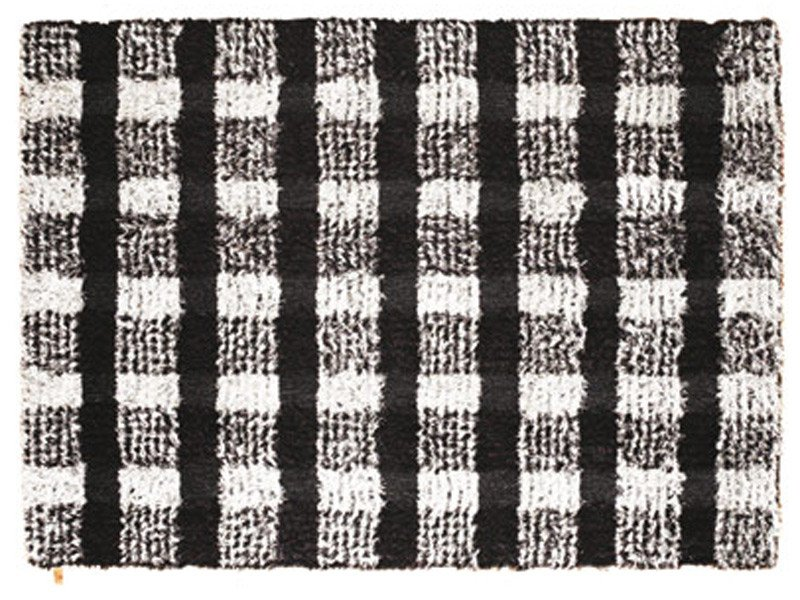 Patterned linen rug BETTY by Kasthall