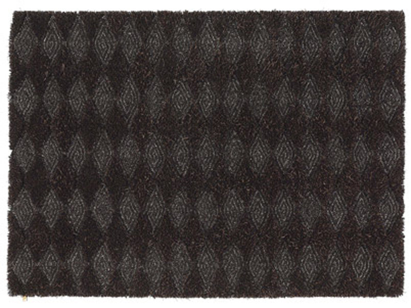 Patterned wool linen rug KONGO by Kasthall