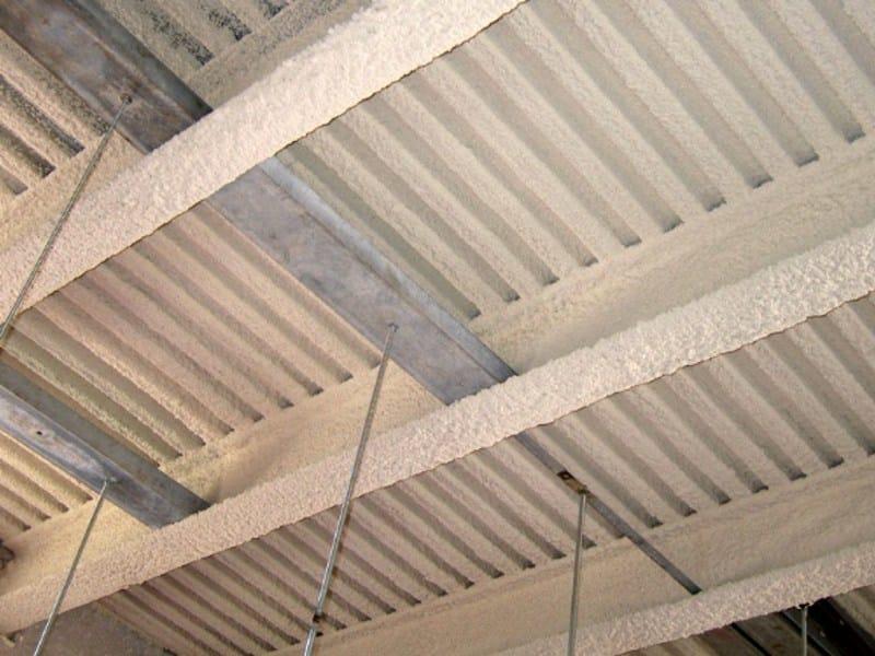 Fire-resistant plaster CAFCO 300 by Perlite Italiana