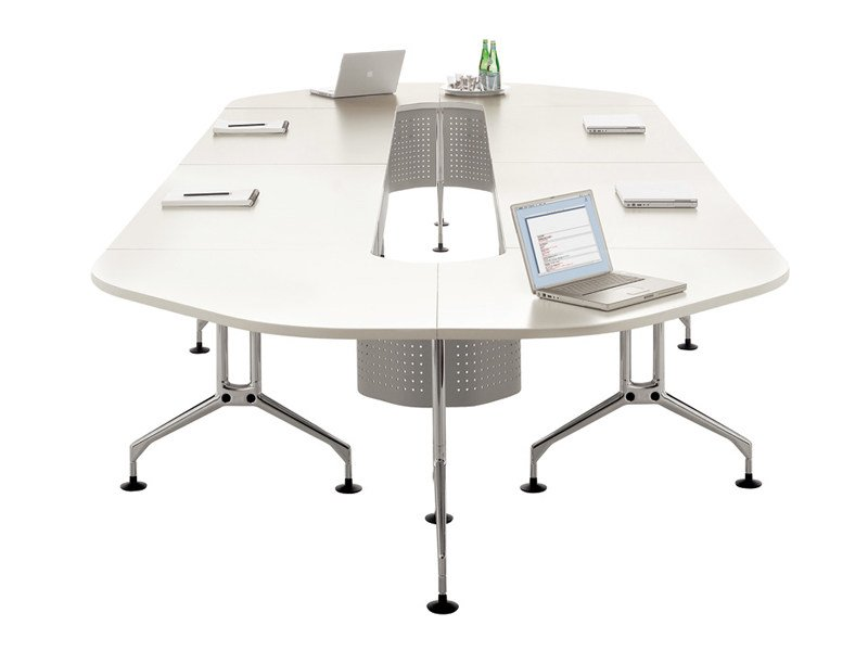 Modular meeting table AD USUM by Vitra