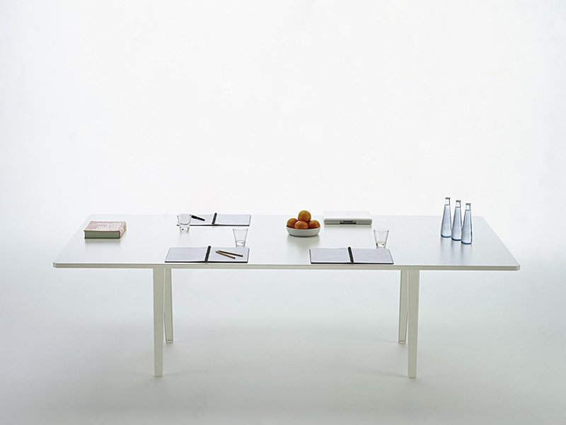 Modular rectangular meeting table JOYN CONFERENCING by Vitra