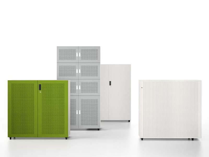 Office storage unit with lock STORAGE by Vitra
