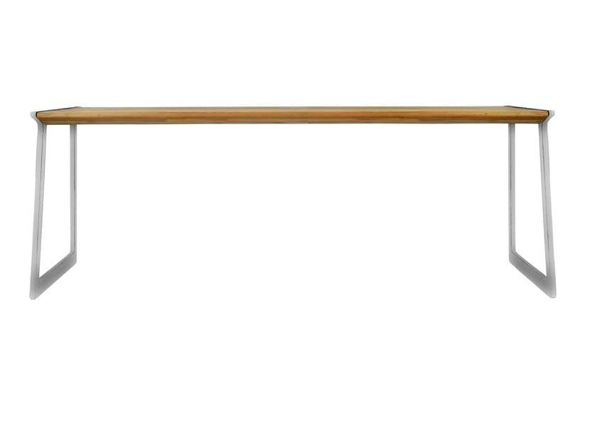 Rectangular garden table BIRD | Garden table by TRIBÙ