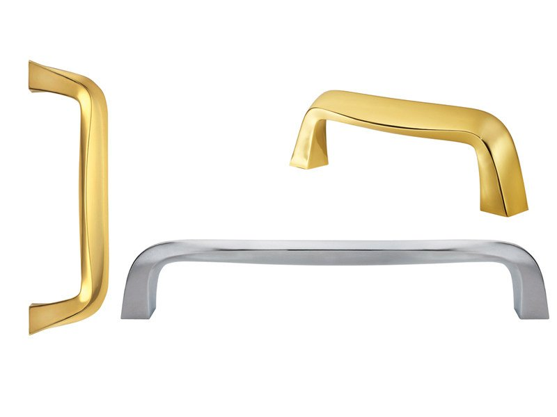 Contemporary style brass pull handle 732   Brass pull handle by Enrico Cassina