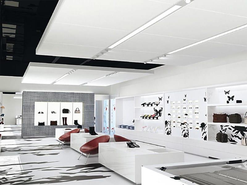 Panneau pour plafonds suspendus acoustique techzone by armstrong - Plafond suspendu armstrong ...