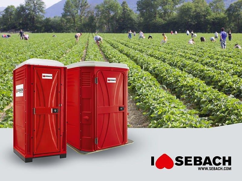 Construction site prefabricated component and garage MINI e MAXI BOX by sebach