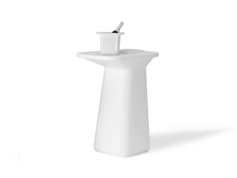 Polyethylene high table MOMA AIRE HIGH by VONDOM