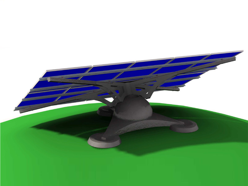 Support for photovoltaic system GEKO by STRUKTURE