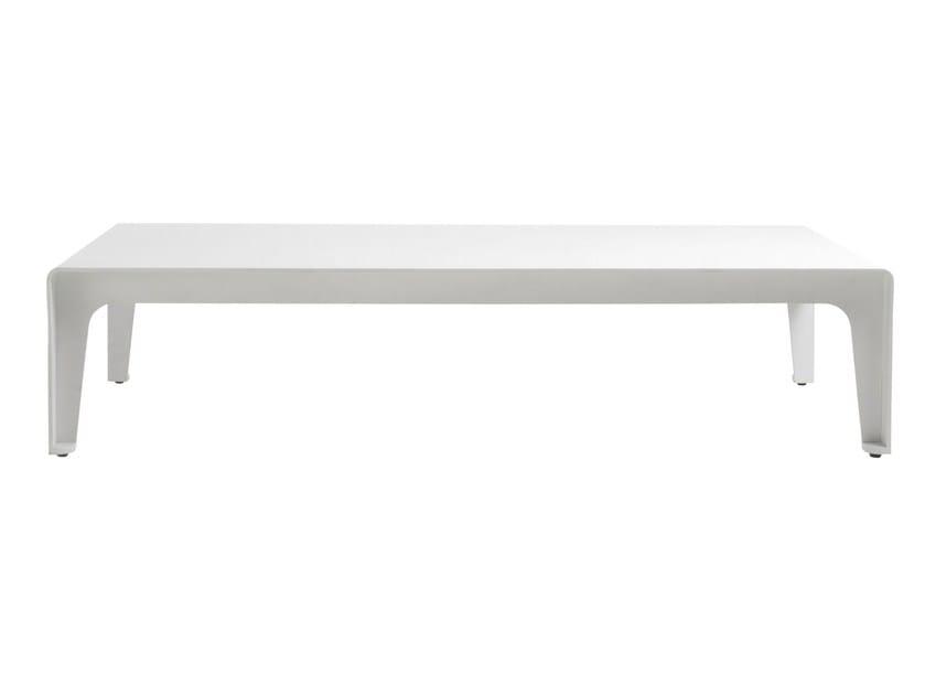 Low Rectangular garden side table MIRTHE SOFA | Garden side table by TRIBÙ
