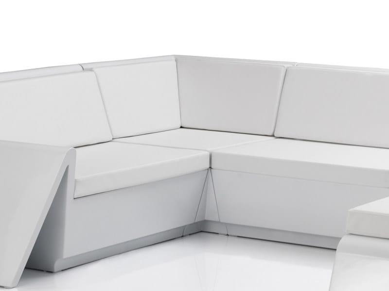 Modular sectional garden sofa REST | Modular garden sofa by VONDOM